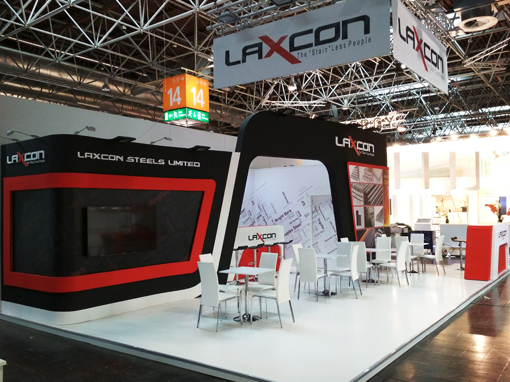 laxcon exhibition stand builder in germany