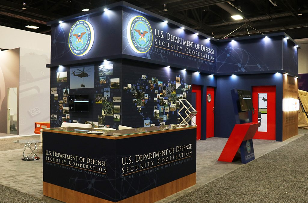 US Department Of Defence | 75 Sqm | AUSA 2019