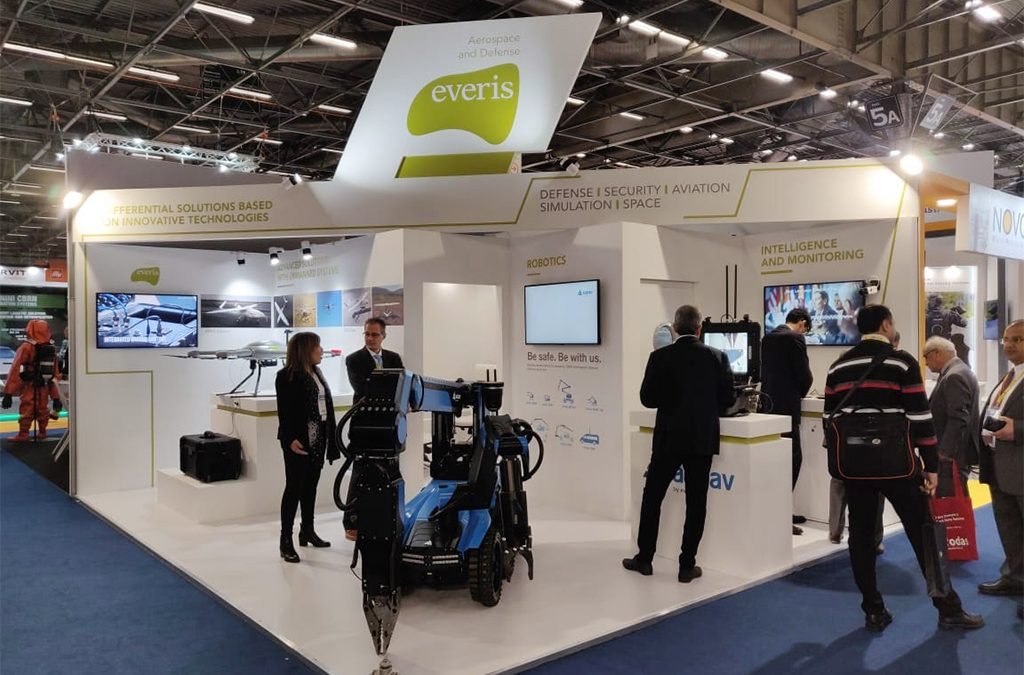 Everis Aerospace | 30 Sqm | Milipol Paris 2019
