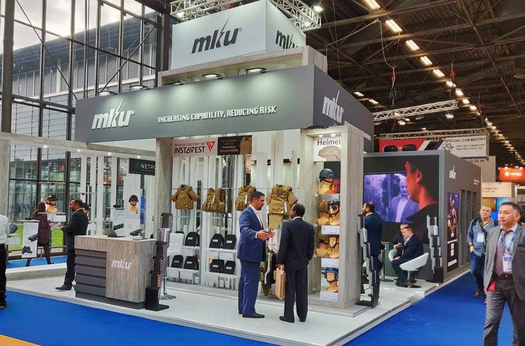 MKU Limited | 87 Sqm | Milipol Paris 2019