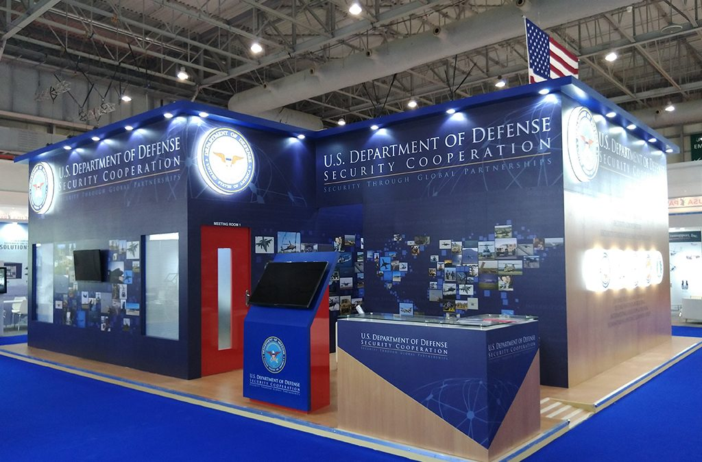 US Department Of Defense | 95 Sqm | Dubai Airshow 2019