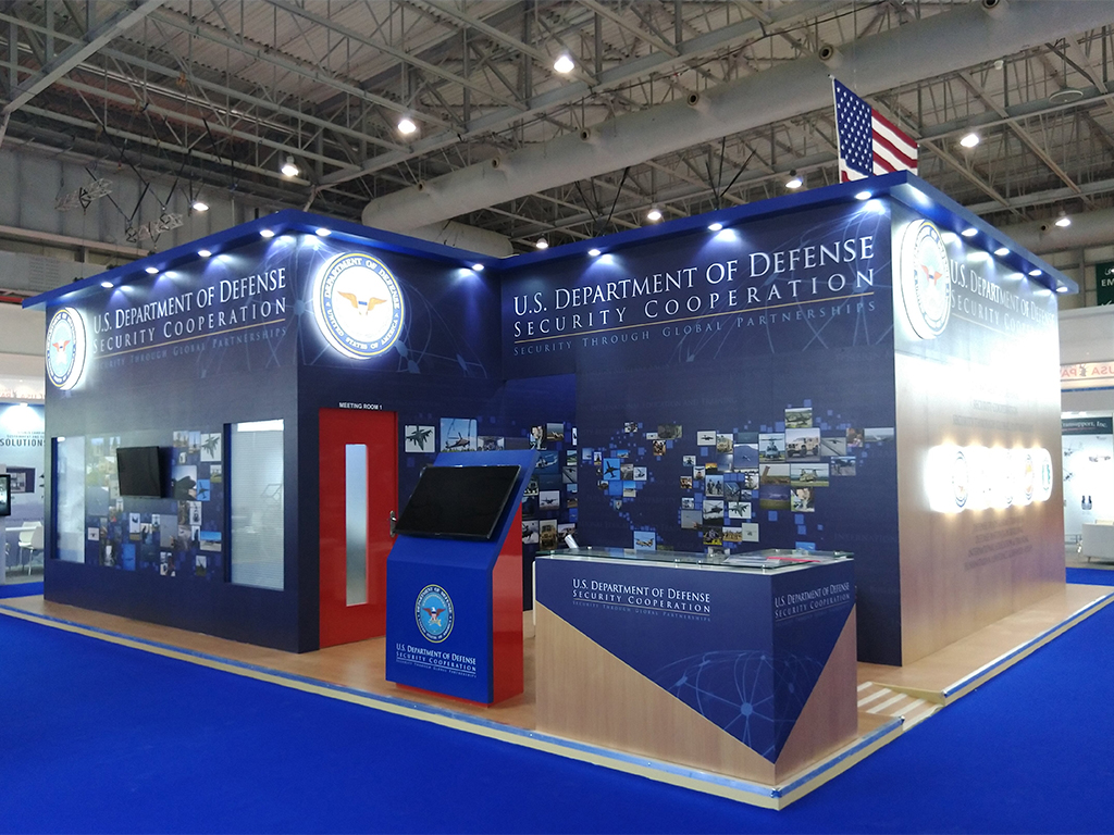 us-department-of-defense-exhibition-stand-dubai-airshow-2019