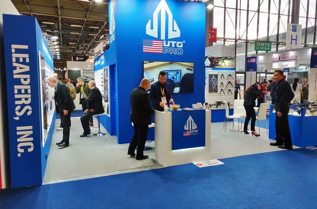 UTG Leapers | 40 Sqm | Milipol Paris 2019